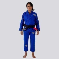Kingz BJJ Gi Ladies Nano 2.0 blå 1