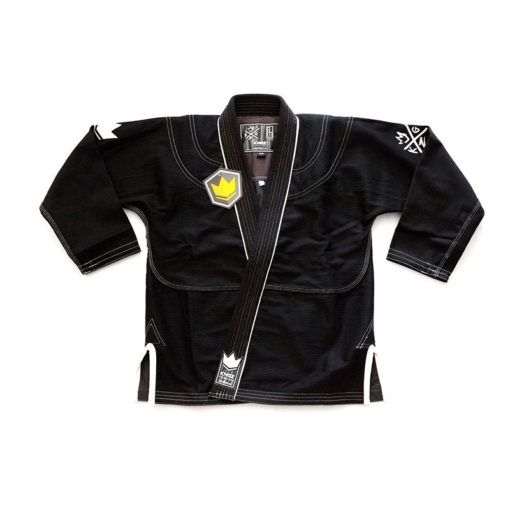 Kingz BJJ Gi Sovereign 2 0 svart 3