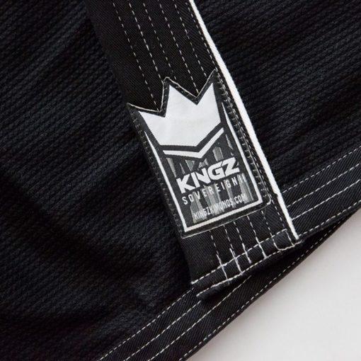 Kingz BJJ Gi Sovereign 2 0 svart 6