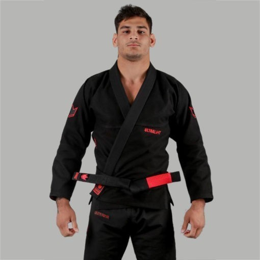 Kingz BJJ Gi Ultralight svart 1 1