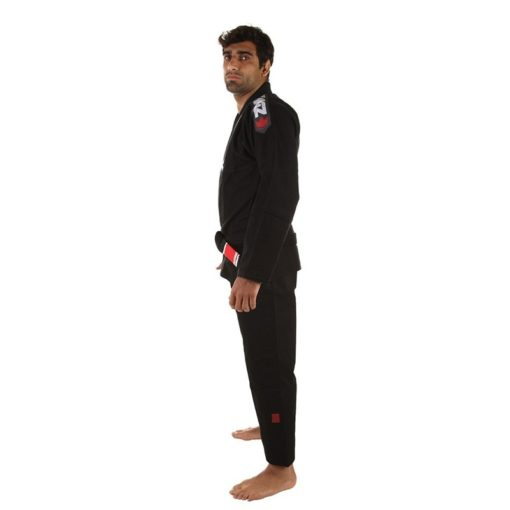 Kingz BJJ Gi Ultralight svart 5