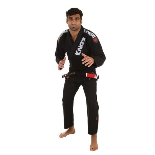 Kingz BJJ Gi Ultralight svart 6