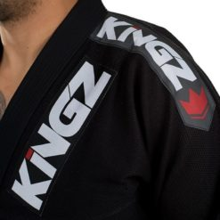 Kingz BJJ Gi Ultralight svart 7