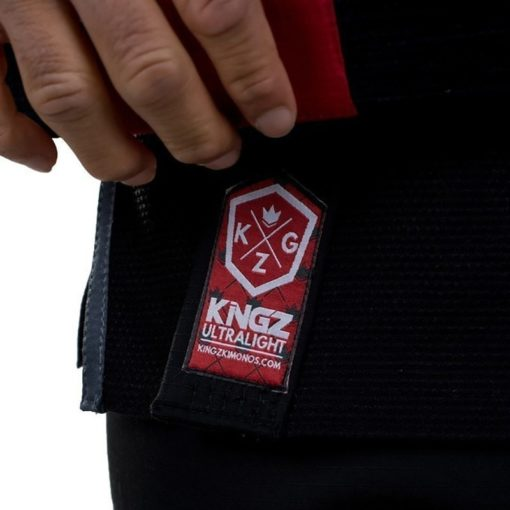 Kingz BJJ Gi Ultralight svart 8