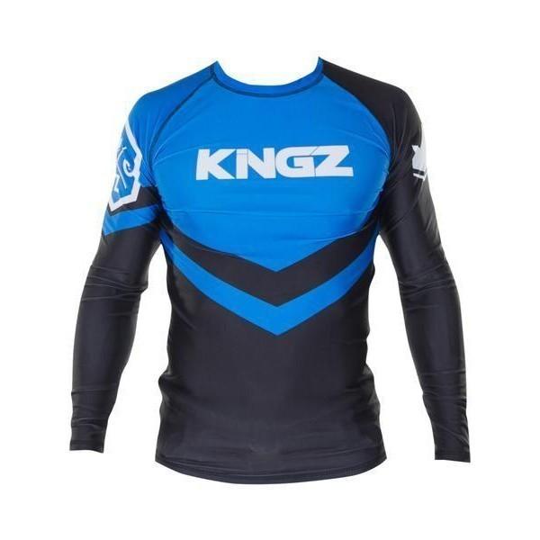 Kingz Rashguard Ranked Long Sleeve bla 1