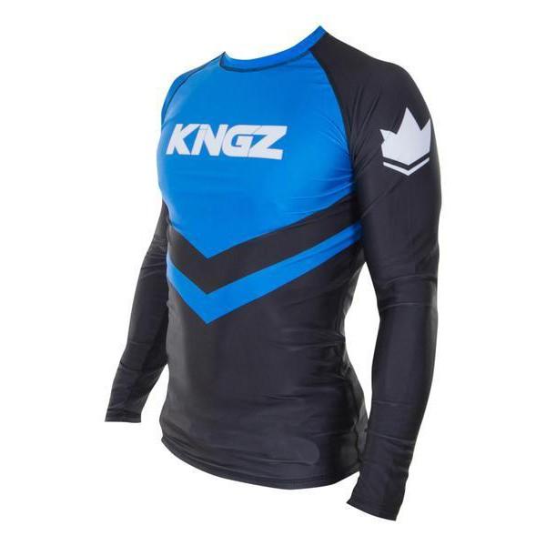 Kingz Rashguard Ranked Long Sleeve bla 2