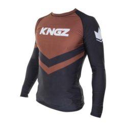 Kingz Rashguard Ranked Long Sleeve brun 3