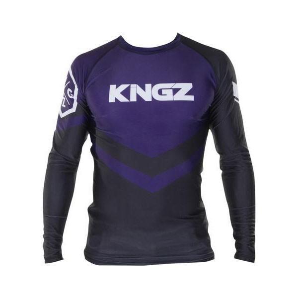 Kingz Rashguard Ranked Long Sleeve lila 1