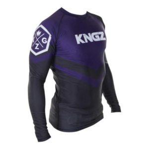 Kingz Rashguard Ranked Long Sleeve lila 3