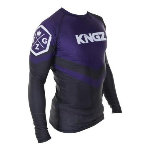 Kingz Rashguard Ranked Long Sleeve lila 3