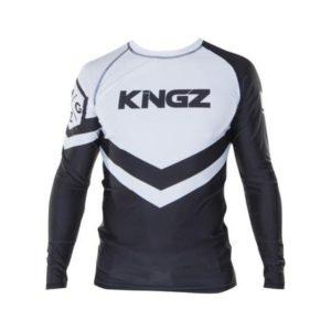 Kingz Rashguard Ranked Long Sleeve vit 1