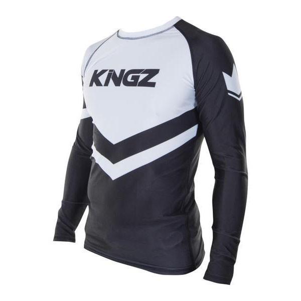Kingz Rashguard Ranked Long Sleeve vit 2