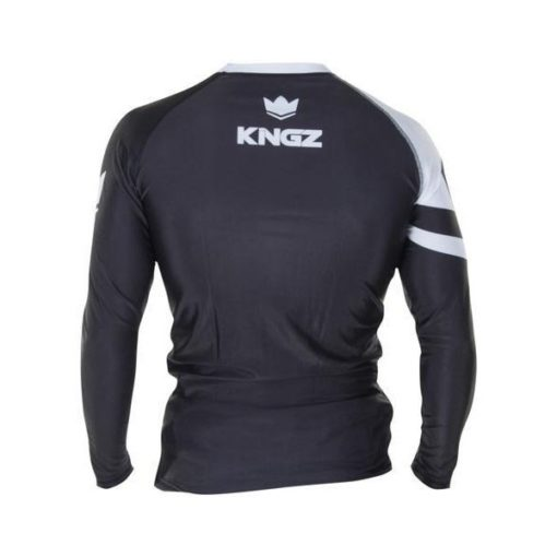 Kingz Rashguard Ranked Long Sleeve vit 4