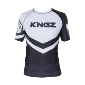 Kingz Rashguard Ranked Short Sleeve vit 1