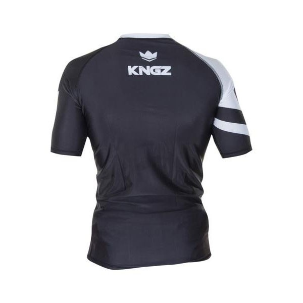 Kingz Rashguard Ranked Short Sleeve vit 2