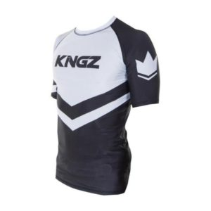 Kingz Rashguard Ranked Short Sleeve vit 3