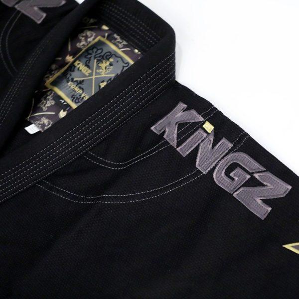 Kingz BJJ Gi Comp 450 V5 svart 3