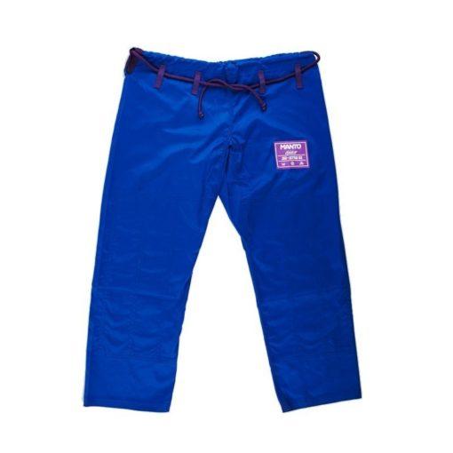 MANTO CLASICO BJJ Gi blue purple ltd edition colorway 1064 3