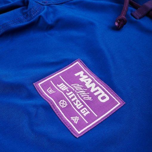 MANTO CLASICO BJJ Gi blue purple ltd edition colorway 1064 4