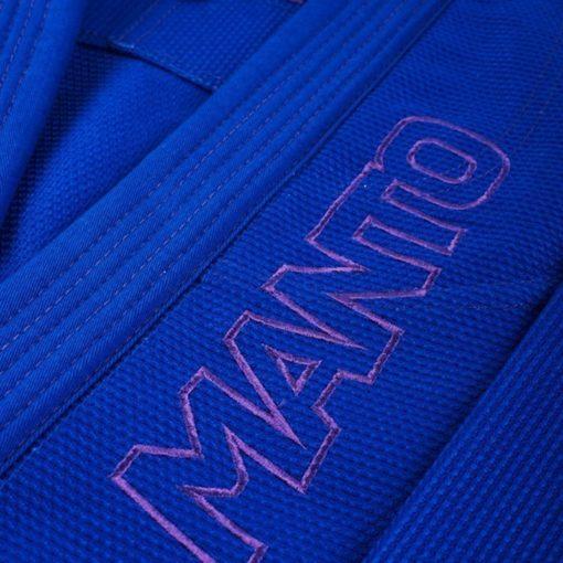 MANTO CLASICO BJJ Gi blue purple ltd edition colorway 1064 5
