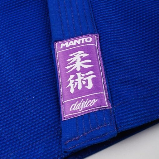 MANTO CLASICO BJJ Gi blue purple ltd edition colorway 1064 7