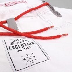Macaco Branco BJJ Gi Evolution 3 0 vit 6