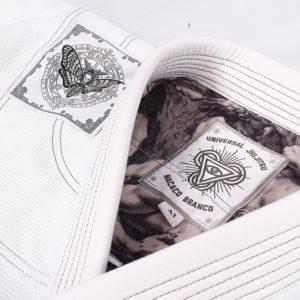 Macaco Branco BJJ Gi Limited Edition UJJ X MCB vit 1