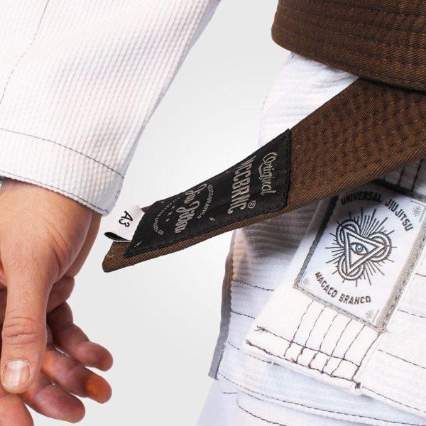 Macaco Branco BJJ Gi Limited Edition UJJ X MCB vit 2
