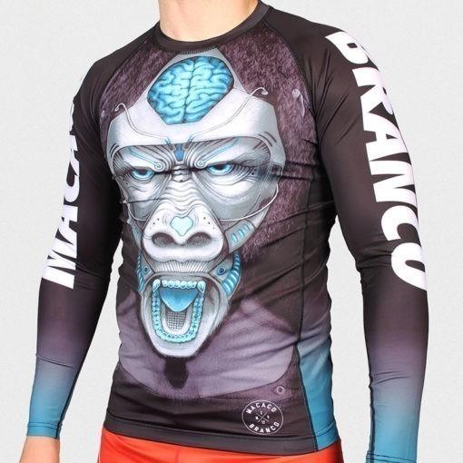 Macaco Branco Rashguard Rage 3