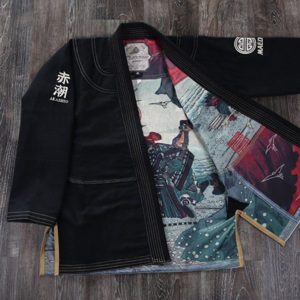 Maeda BJJ Gi Akashio Limited Edition svart 5 1