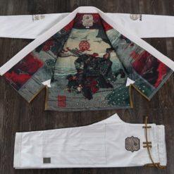 Maeda BJJ Gi Akashio Limited Edition vit 1