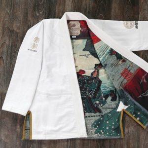 Maeda BJJ Gi Akashio Limited Edition vit 5 1