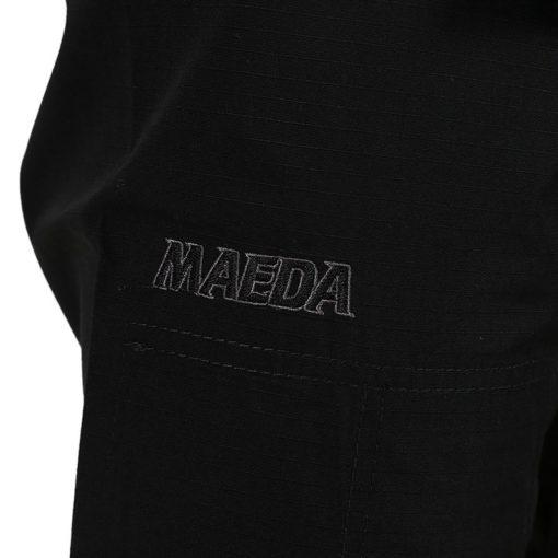 Maeda BJJ Gi Yurei svart 6