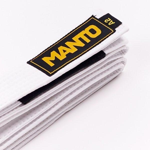 Manto BJJ Balte Logo vit