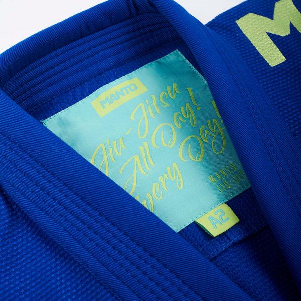 Manto BJJ GI X4 blå 4