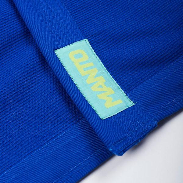 Manto BJJ GI X4 blå 6
