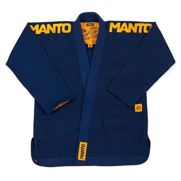 Manto BJJ GI X4 navy 4