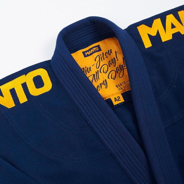 Manto BJJ GI X4 navy 6