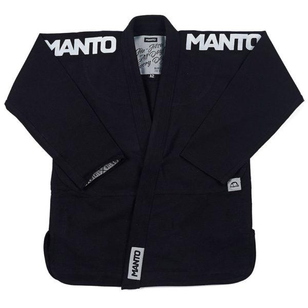 Manto BJJ GI X4 svart 5