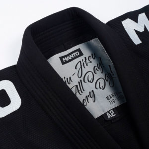 Manto BJJ GI X4 svart 9