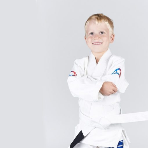 Manto BJJ Gi Junior vit 1