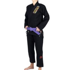Manto BJJ Gi Ladies Floral svart 1