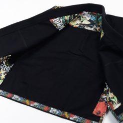 Manto BJJ Gi Ladies Floral svart 10