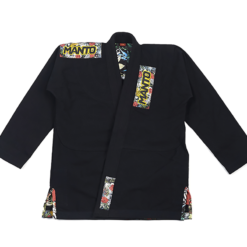 Manto BJJ Gi Ladies Floral svart 2
