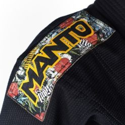 Manto BJJ Gi Ladies Floral svart 4