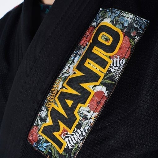 Manto BJJ Gi Ladies Floral svart 5