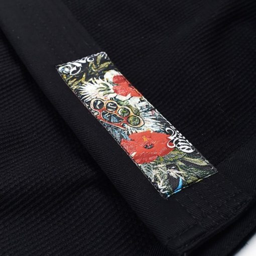 Manto BJJ Gi Ladies Floral svart 6