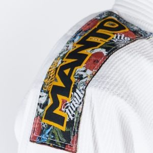 Manto BJJ Gi Ladies Floral vit 10