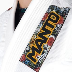 Manto BJJ Gi Ladies Floral vit 12
