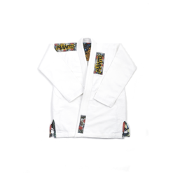 Manto BJJ Gi Ladies Floral vit 2